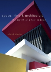 Cover: Space, Time and Architecture in PAPERBACK
