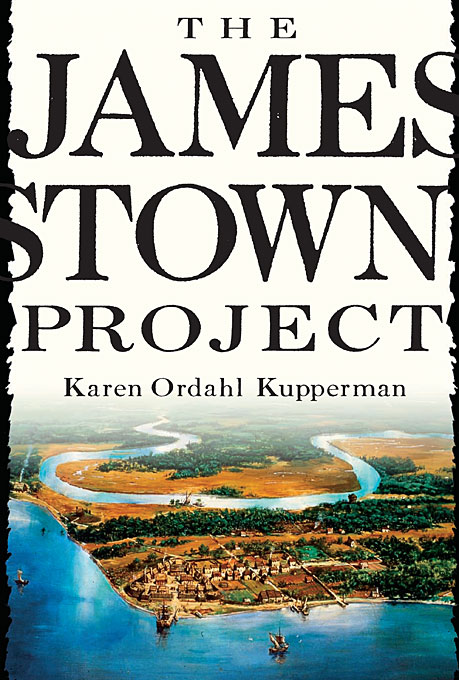 Cover: The Jamestown Project, from Harvard University Press