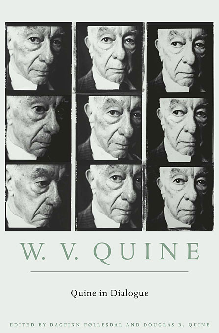 Cover: Quine in Dialogue, from Harvard University Press