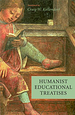 Cover: Humanist Educational Treatises