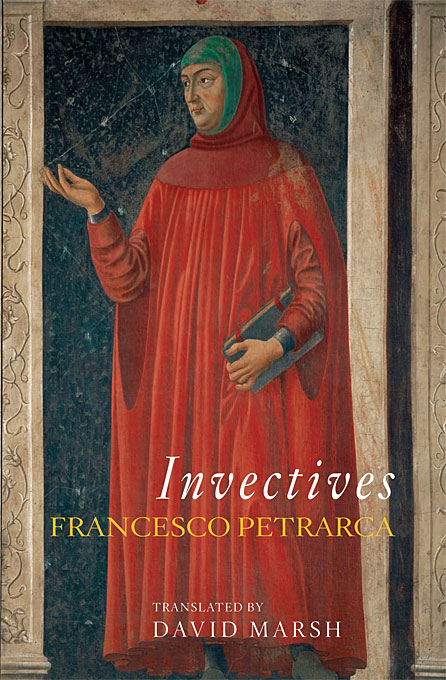 Cover: Invectives, from Harvard University Press