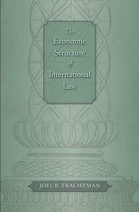 Cover: The Economic Structure of International Law, from Harvard University Press