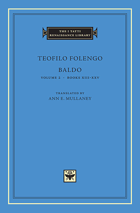 Cover: Baldo, Volume 2: Books XIII-XXV, from Harvard University Press