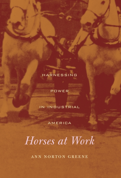 Cover: Horses at Work: Harnessing Power in Industrial America, from Harvard University Press