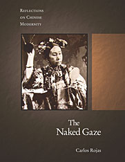 Cover: The Naked Gaze in HARDCOVER