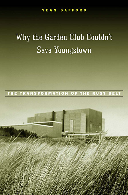Cover: Why the Garden Club Couldn't Save Youngstown: The Transformation of the Rust Belt, from Harvard University Press