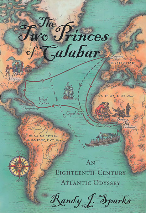 Cover: The Two Princes of Calabar: An Eighteenth-Century Atlantic Odyssey, from Harvard University Press