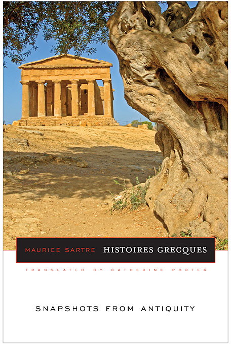 Cover: Histoires Grecques: Snapshots from Antiquity, from Harvard University Press