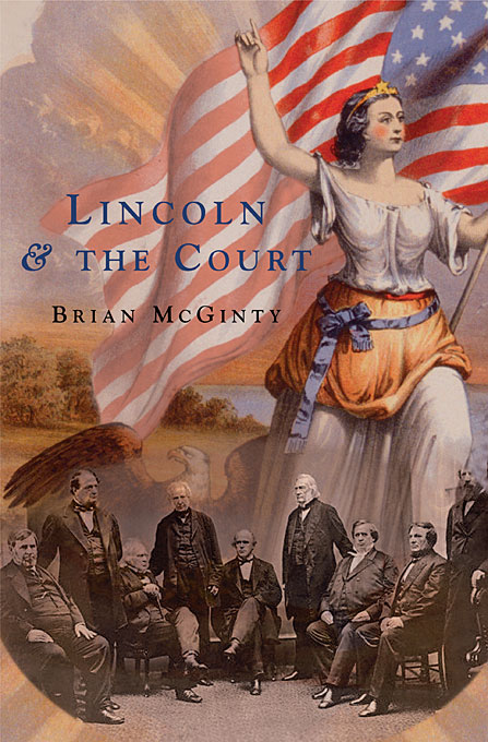 Cover: Lincoln and the Court, from Harvard University Press