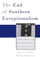 Cover: The End of Southern Exceptionalism in PAPERBACK