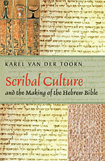 Cover: Scribal Culture and the Making of the Hebrew Bible