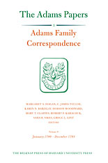 Cover: Adams Family Correspondence, Volume 9: January 1790–December 1793