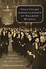 Cover: Voluntary Associations in Tsarist Russia in HARDCOVER