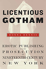 Cover: Licentious Gotham in HARDCOVER