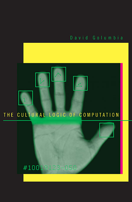 Cover: The Cultural Logic of Computation, from Harvard University Press
