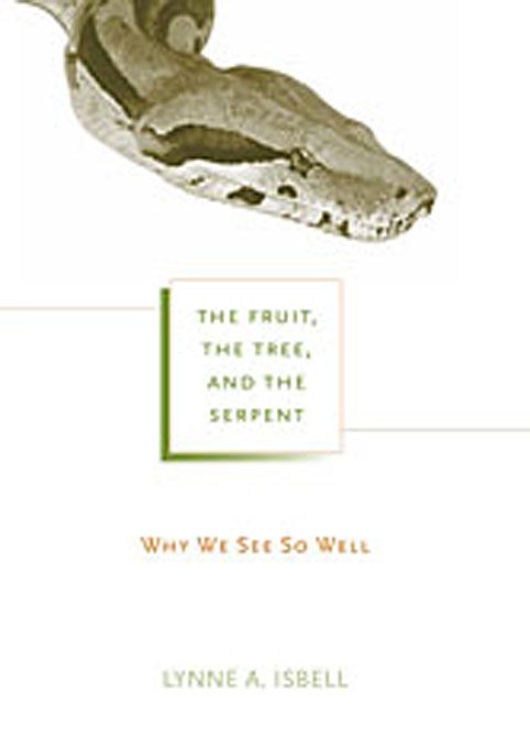 Cover: The Fruit, the Tree, and the Serpent: Why We See So Well, from Harvard University Press