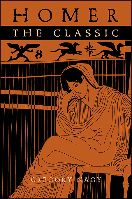 Cover: Homer the Classic, from Harvard University Press