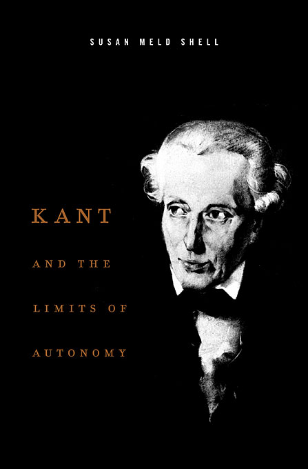 Cover: Kant and the Limits of Autonomy, from Harvard University Press
