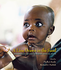 Cover: A Line Drawn in the Sand in PAPERBACK