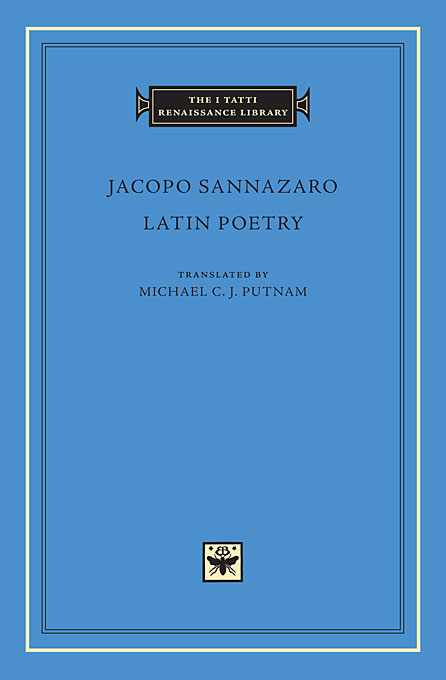 Cover: Latin Poetry, from Harvard University Press