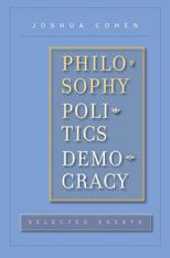 Cover: Philosophy, Politics, Democracy in HARDCOVER