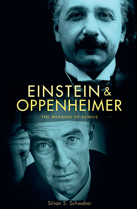 Cover: Einstein and Oppenheimer: The Meaning of Genius, from Harvard University Press