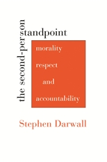 Cover: The Second-Person Standpoint: Morality, Respect, and Accountability