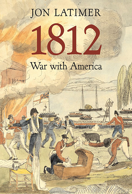 Cover: 1812: War with America, from Harvard University Press