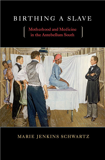 Cover: Birthing a Slave: Motherhood and Medicine in the Antebellum South, from Harvard University Press