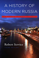 Cover: A History of Modern Russia: From Tsarism to the Twenty-First Century, Third Edition
