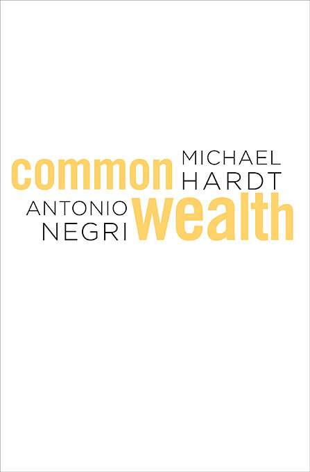 Cover: Commonwealth, from Harvard University Press