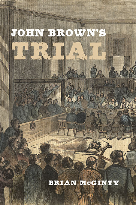 Cover: John Brown's Trial, from Harvard University Press