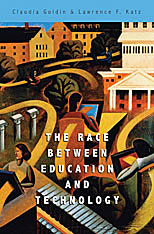Cover: The Race between Education and Technology in PAPERBACK