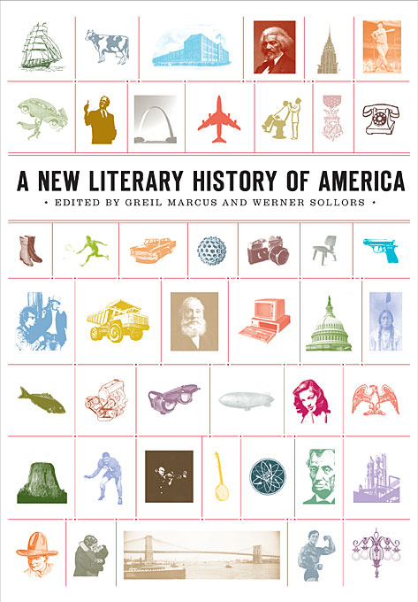 Cover: A New Literary History of America, from Harvard University Press