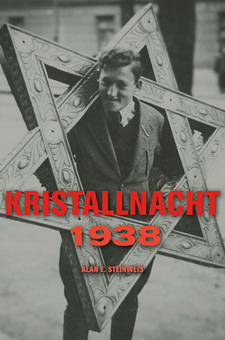 Cover: Kristallnacht 1938, from Harvard University Press