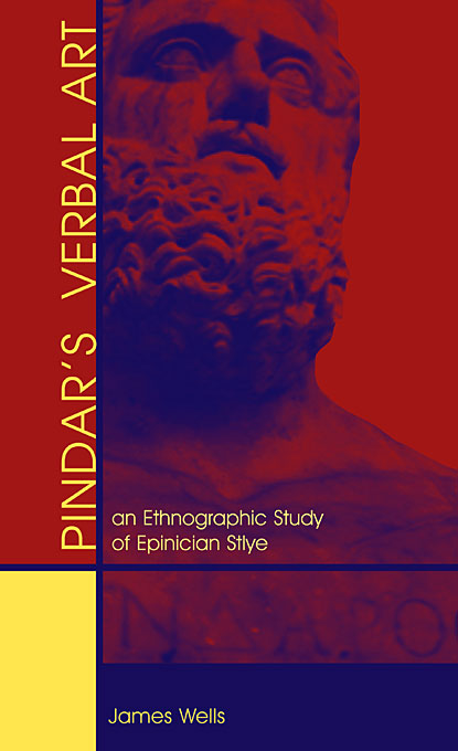 Cover: Pindar's Verbal Art: An Ethnographic Study of Epinician Style, from Harvard University Press