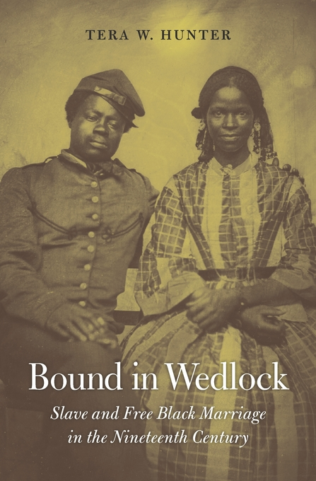 Cover: Bound in Wedlock: Slave and Free Black Marriage in the Nineteenth Century, from Harvard University Press