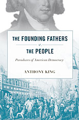 Cover: The Founding Fathers v. the People in HARDCOVER