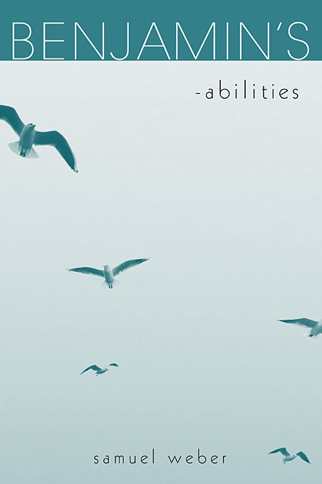 Cover: Benjamin's -abilities, from Harvard University Press