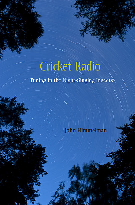 Cover: Cricket Radio: Tuning In the Night-Singing Insects, from Harvard University Press