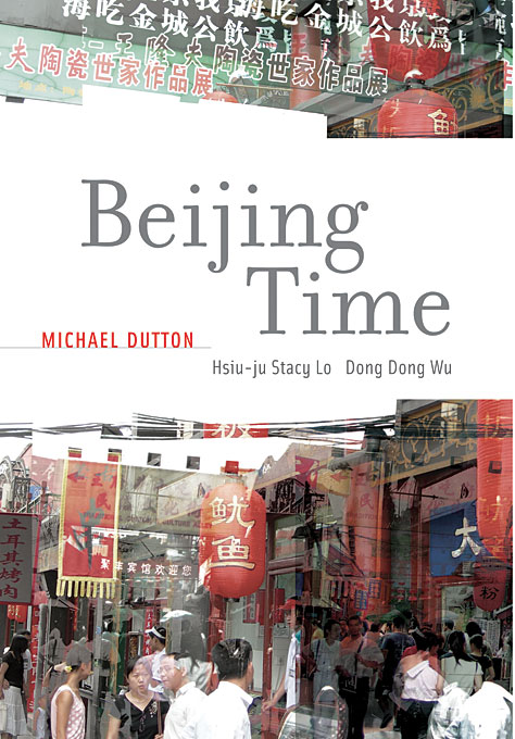 Cover: Beijing Time, from Harvard University Press
