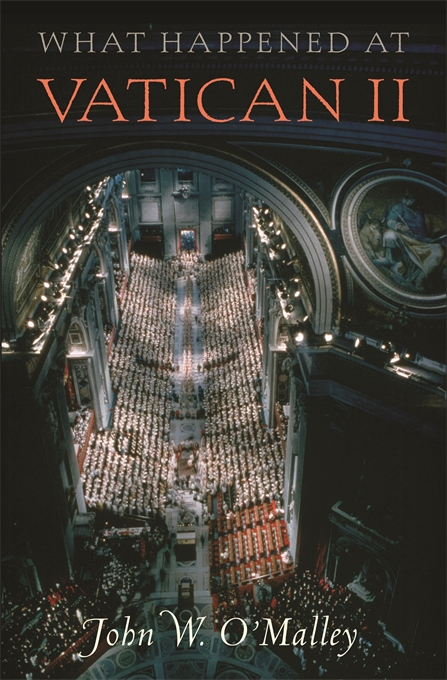 Cover: What Happened at Vatican II, from Harvard University Press