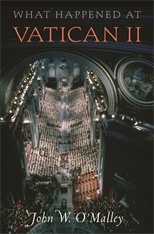 Cover: What Happened at Vatican II, by John W. O'Malley, from Harvard University Press
