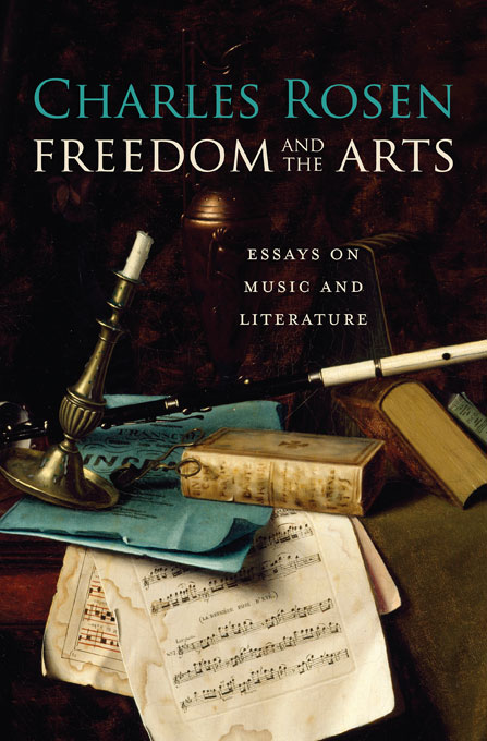Cover: Freedom and the Arts: Essays on Music and Literature, from Harvard University Press