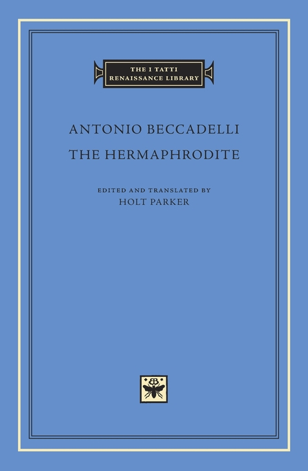 Cover: The Hermaphrodite, from Harvard University Press