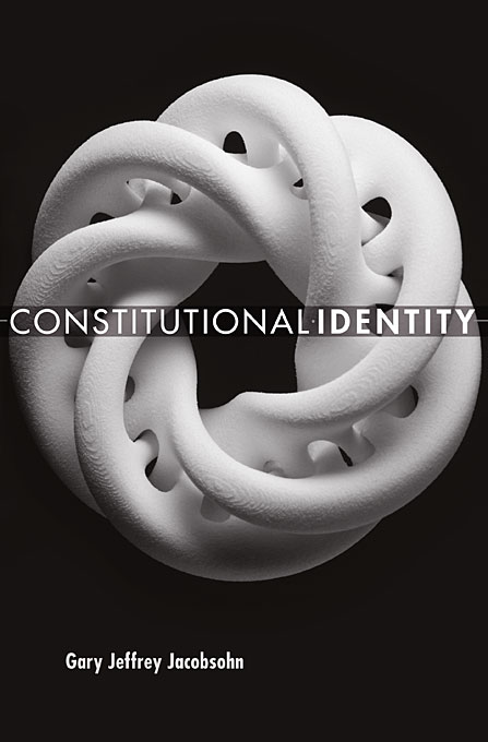 Cover: Constitutional Identity, from Harvard University Press
