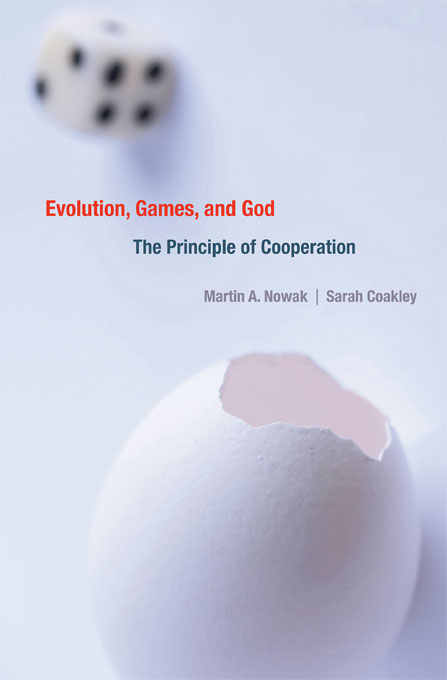 Cover: Evolution, Games, and God: The Principle of Cooperation, from Harvard University Press