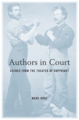 Cover: Authors in Court: Scenes from the Theater of Copyright