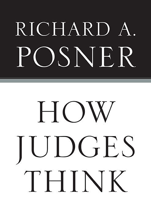 Cover: How Judges Think, from Harvard University Press