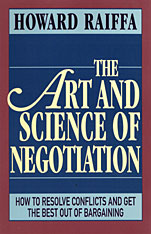 Cover: The Art and Science of Negotiation